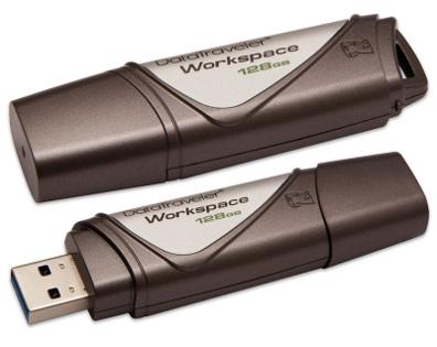 128GB Kingston USB 3.0 DataTraveler Workspace