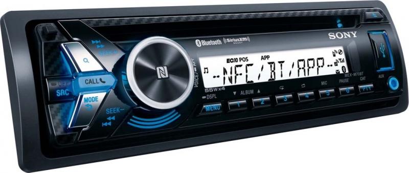 Sony autorádio MEX-M70BT CD/MP3,USB/AUX, NFC/BT