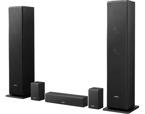 Sony AV sada reproduktorů SS-CS310CR 5.0, černá