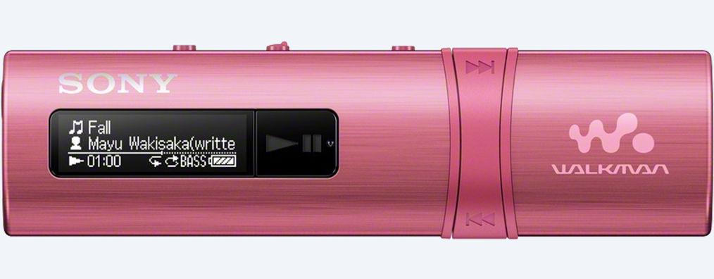 Sony MP3 přehrávač 4GB NWZ-B183F, FM rádio,růžový