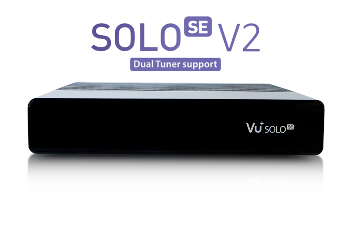 Vu+ Solo SE V2 černý (1x Dual DVB-S2 tuner)