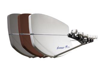 Satelitní parabola Visiosat Big Bisat 4MS biela