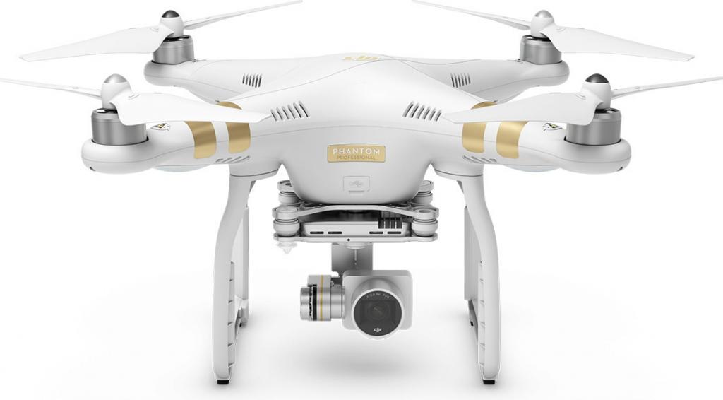 DJI kvadrokoptéra - dron, Phantom 3 Professional, 4K Ultra HD kamera