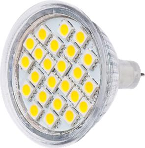 LED žárovka TB Energy MR16, 12V, 4,0W,Teplá bílá