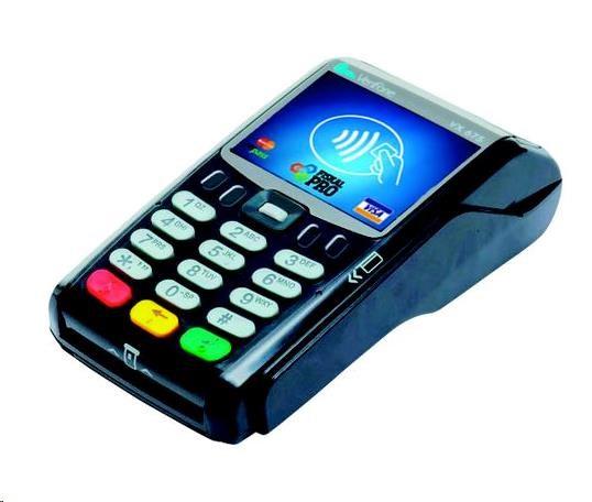 FiskalPRO pokladna EET VX675 GSM, baterie, Basic, platební karty