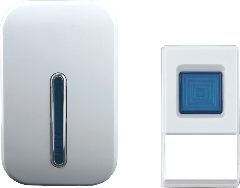 Solight bezdrátový zvonek, do zásuvky, 100m, bílý