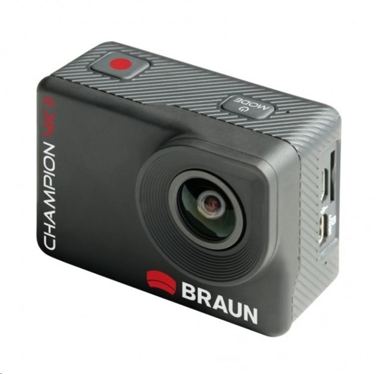 Braun CHAMPION 4K II - akční kamera