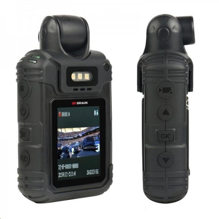 Braun BodyCam BCX5 - akční kamera