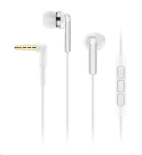 SENNHEISER CX 2.00i bílá (white) sluchátka do uší - headset pro Apple
