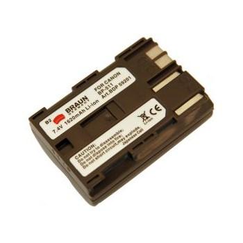 Braun foto/video akumulátor Li-Ion 7,4 V/1620 mAh (B2), typ Canon BP-511/BP-514