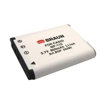 Braun fotoakumulátor Li-Ion 3,7V/800mAh (B172), typ Casio NP-110