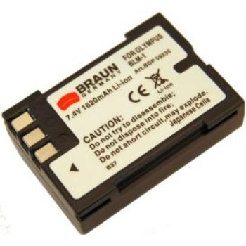 Braun fotoakumulátor Li-Ion 7,4 V/1620 mAh (B37), typ Olympus BLM-1