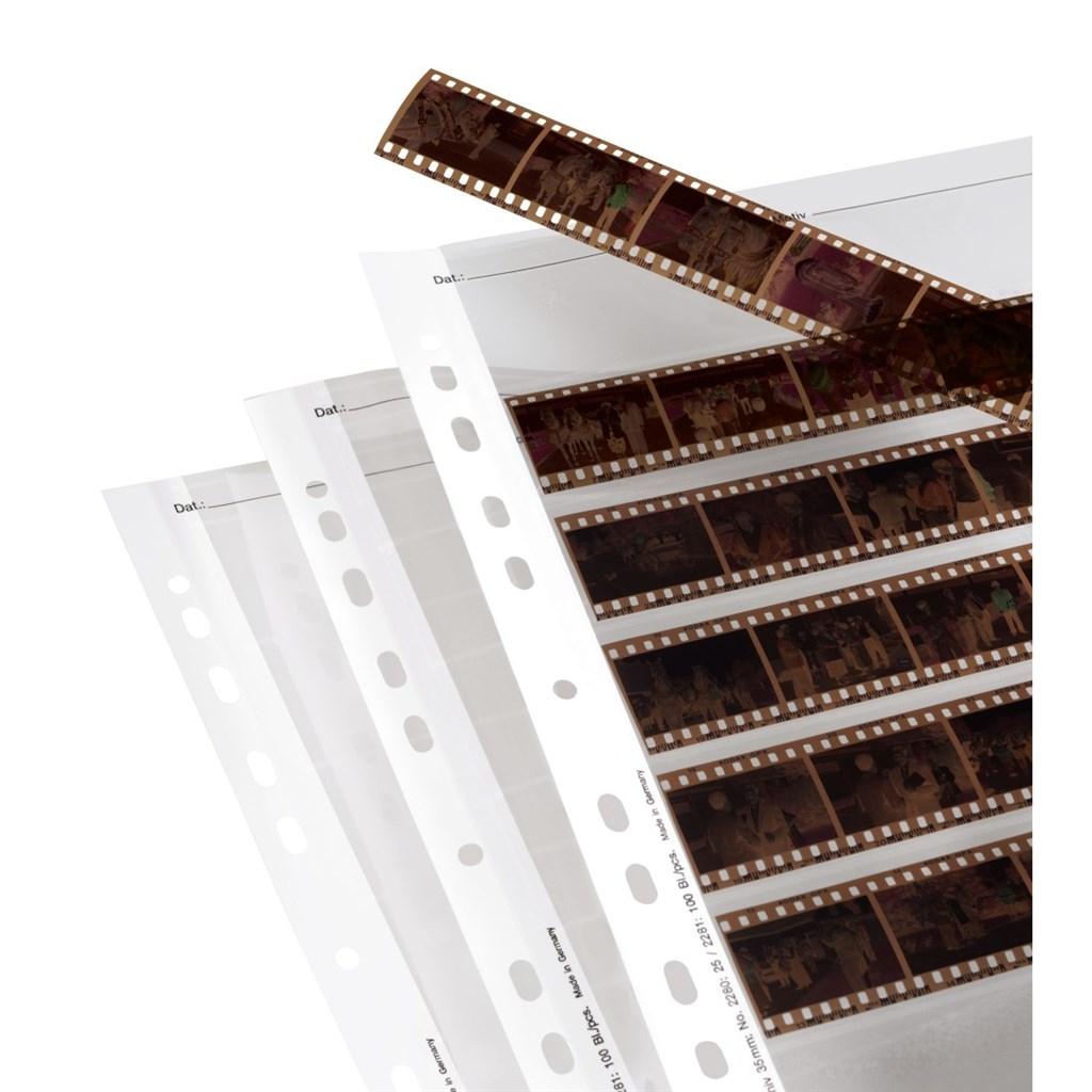 Hama obal na negativ, 24x36 mm, acetát čirý, 260x310 mm, 25 ks