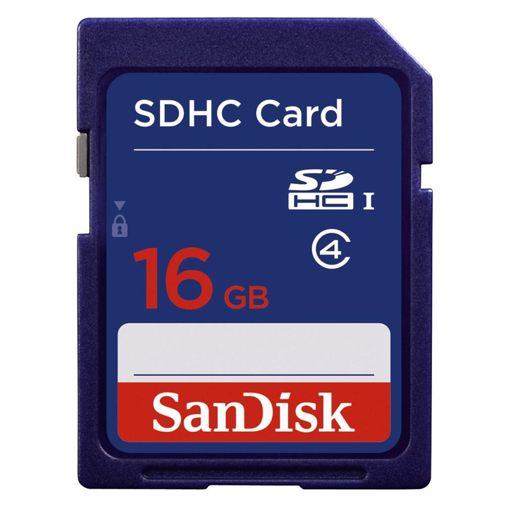 SanDisk SDHC Card 16 GB