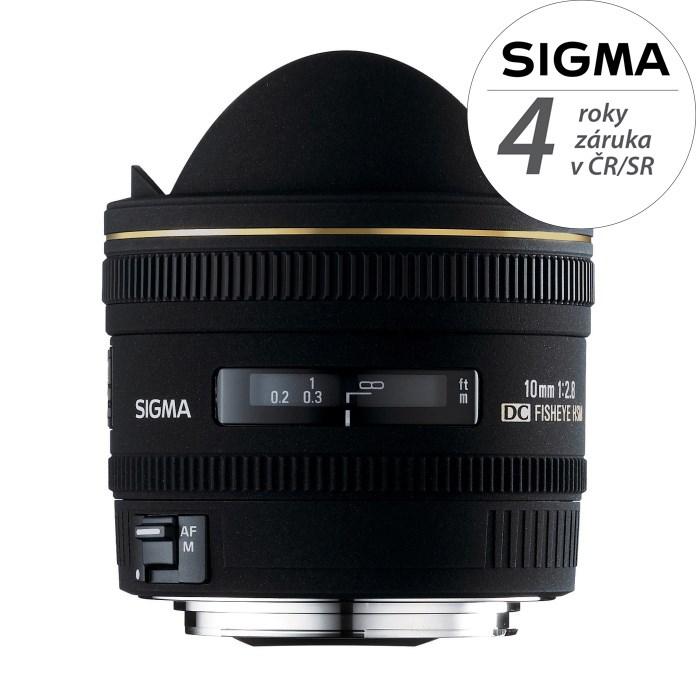 SIGMA 10/2.8 EX DC Fisheye HSM Nikon