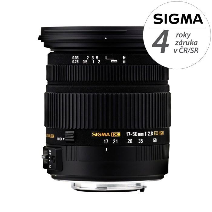 SIGMA 17-50/2.8 EX DC HSM Sony