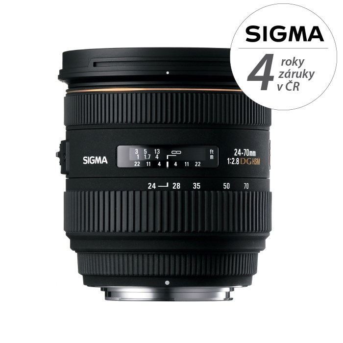SIGMA 24-70/2.8 IF EX DG HSM Nikon