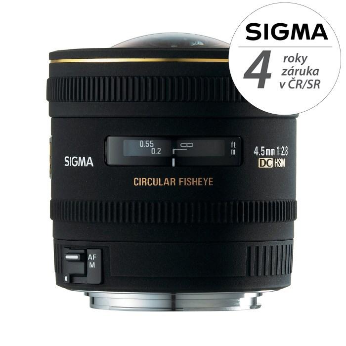 SIGMA 4.5/2.8 EX DC CIRCULAR Fisheye HSM Canon