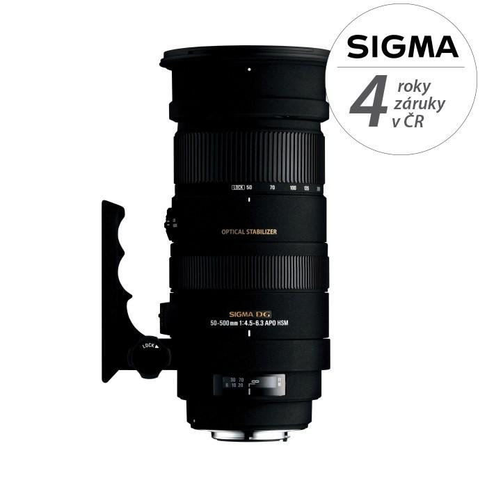 SIGMA 50-500/4.5-6.3 APO DG OS HSM Canon