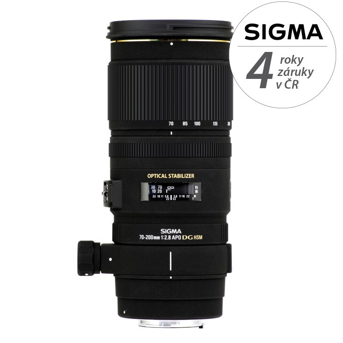 SIGMA 70-200/2.8 APO EX DG OS HSM Nikon