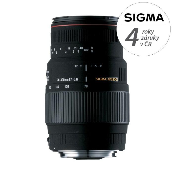 SIGMA 70-300/4-5.6 APO DG MACRO Sigma