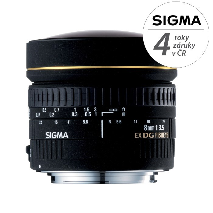 SIGMA 8/3,5 EX DG CIRCULAR FISHEYE Canon