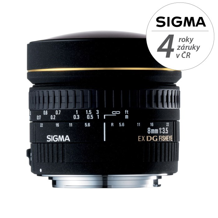 SIGMA 8/3,5 EX DG CIRCULAR FISHEYE Nikon