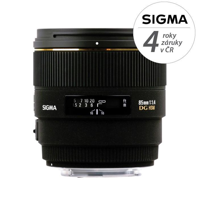 SIGMA 85/1.4 EX DG HSM Sony