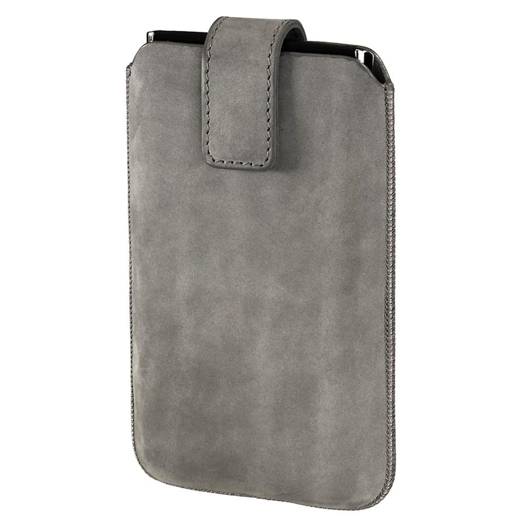 Hama pouzdro na mobilní telefon Chic Case, L, šedé