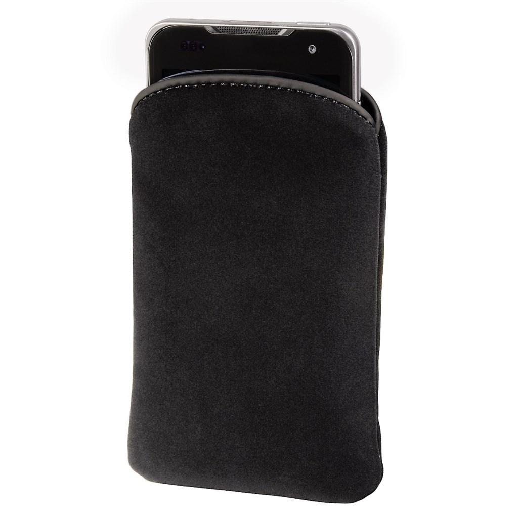 Hama pouzdro na mobilní telefon Velvet Pouch, L, černé