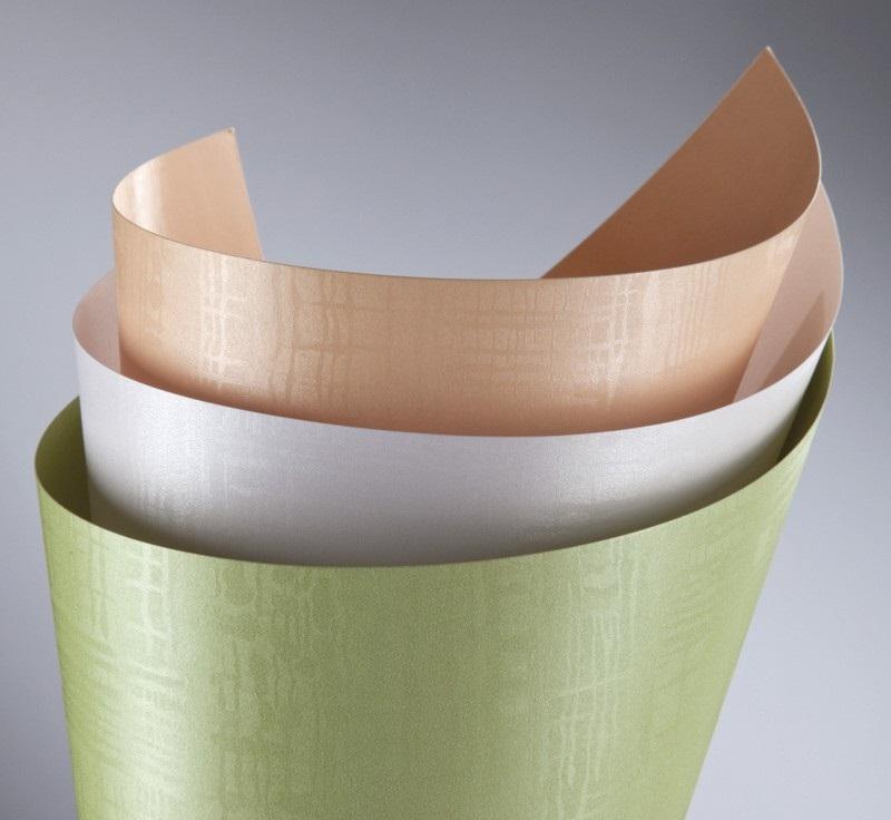 ozdobný papír Satina zelená 220g, 20ks