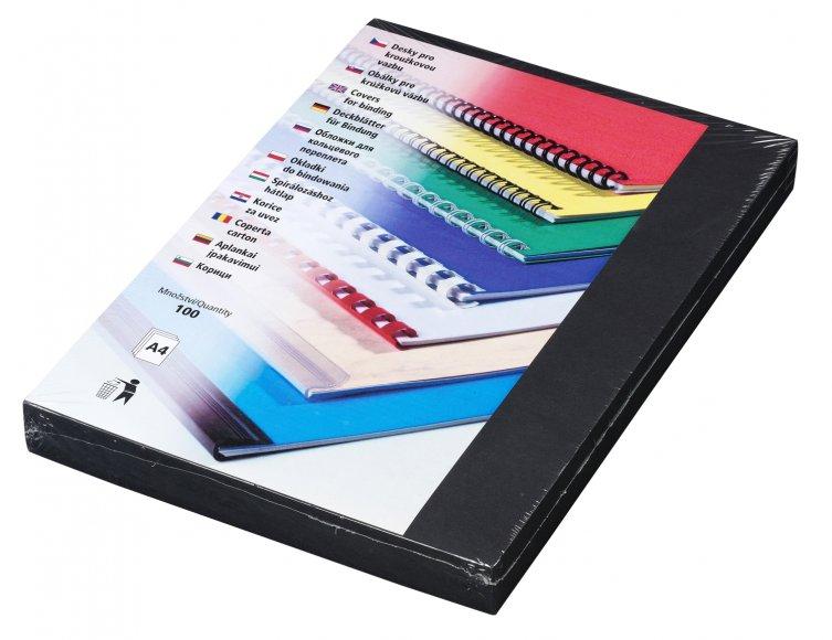 Desky Linen A4, černé