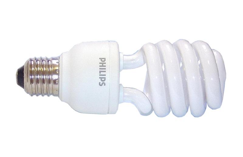 Philips Spiral /E27 23W/120W / 6 500K