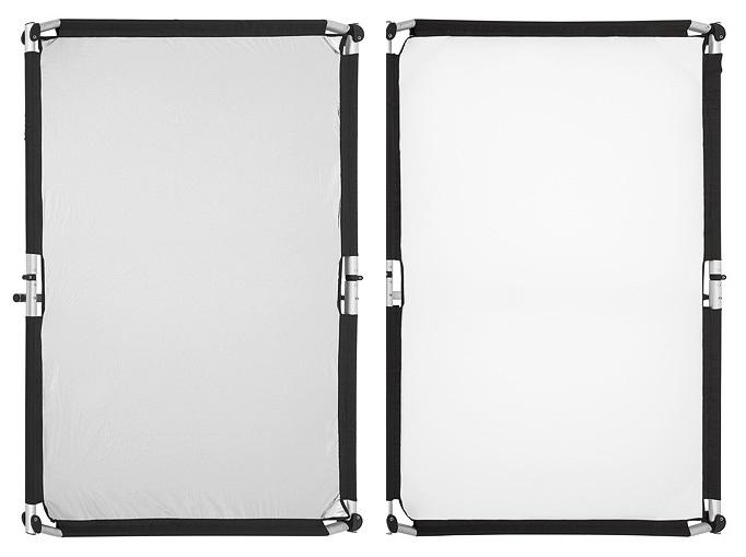 Quick-Clap Slip 1 x 1,5m Silver/White