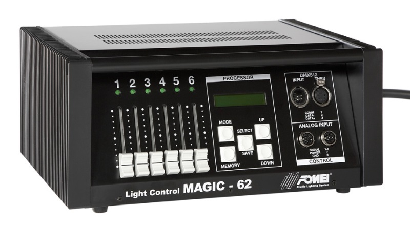Fomei Magic - 62, light control 6 x 2000 W