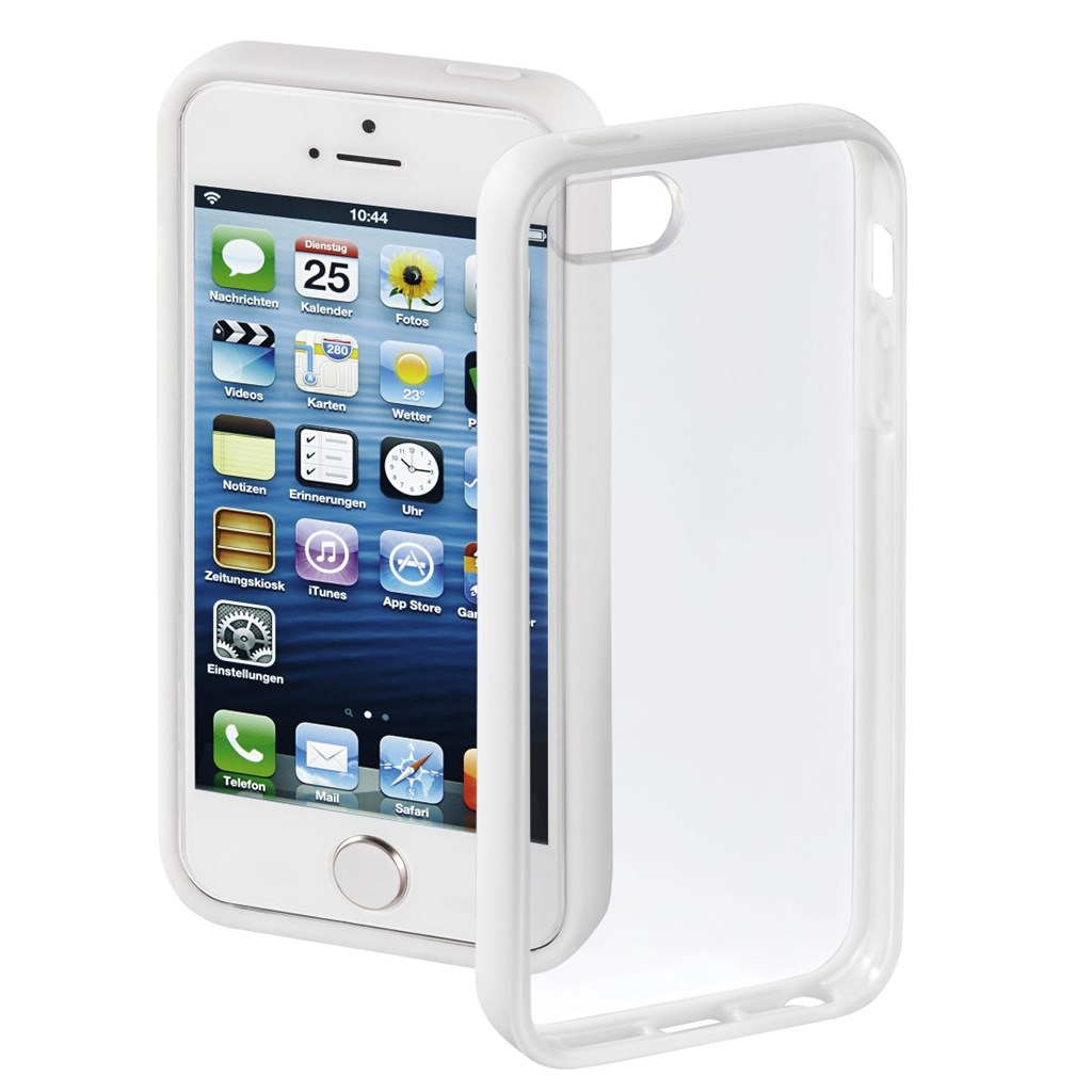 Hama kryt Frame pro Apple iPhone 5/5s, bílý