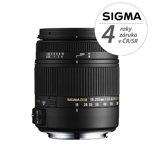 SIGMA 18-250/3.5-6.3 DC MACRO HSM Sony