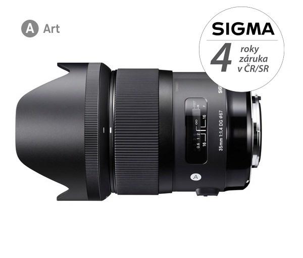 SIGMA 35/1,4 DG HSM ART Canon