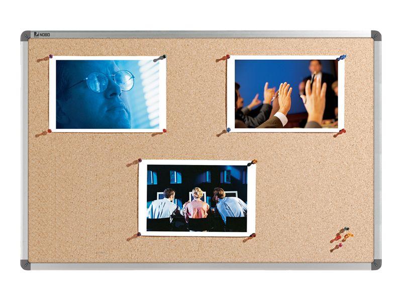 Korková nástěnka NOBO ELIPSE 60x45 cm