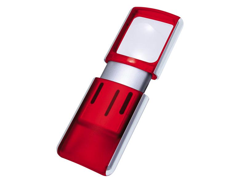 WEDO s LED světlem červená