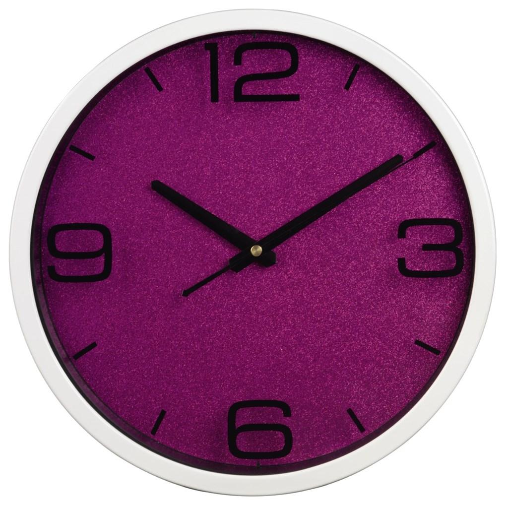 Hama nástěnné hodiny PG-300, růžové