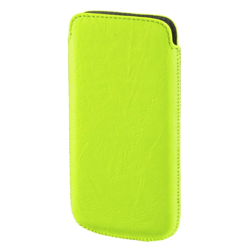 Hama pouzdro na mobil Neon light, velikost L, neónově žluté