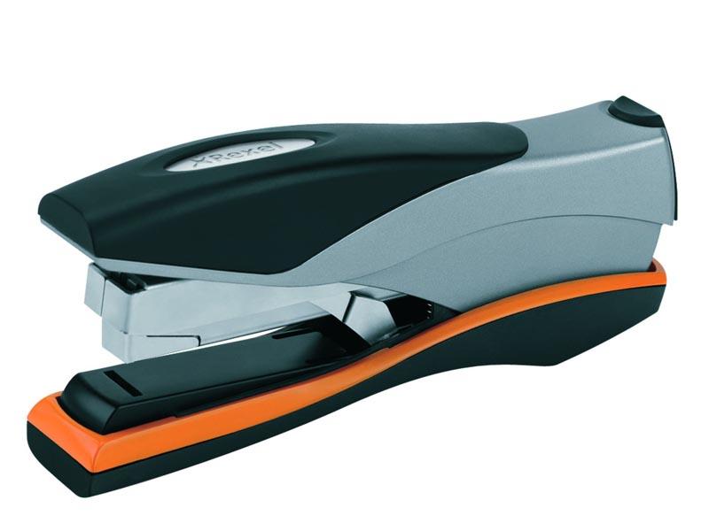 Rexel Optima 40, stříbrná/černá/oranžová