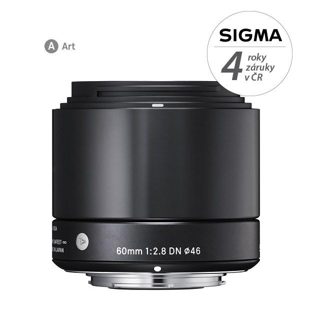 SIGMA 60/2.8 DN ART SONY černý