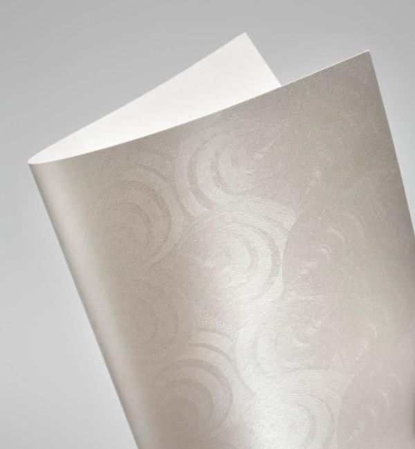 ozdobný papír Paví péro 230g, 20ks