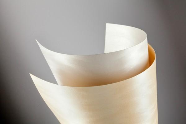 ozdobný papír Duna ivory 220g, 20ks