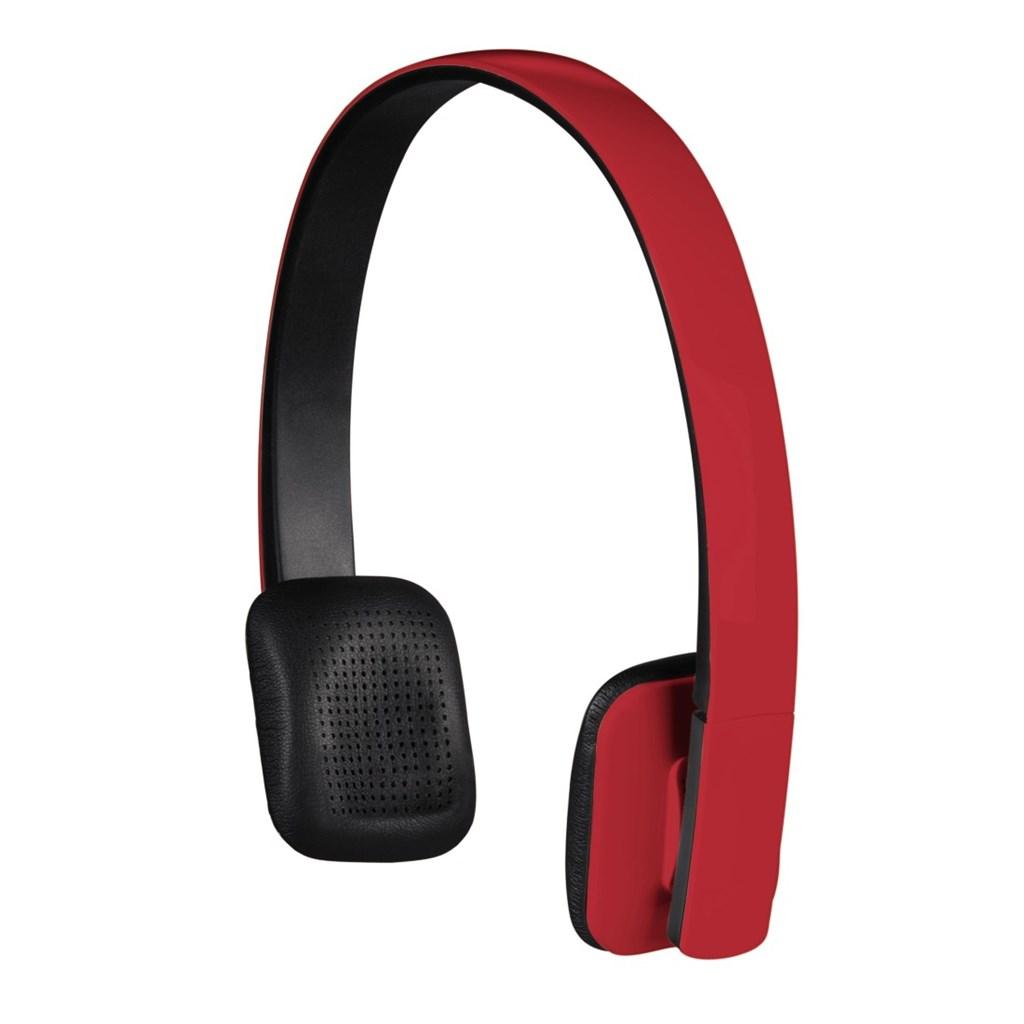 Hama bluetooth stereo headset Drift, červený