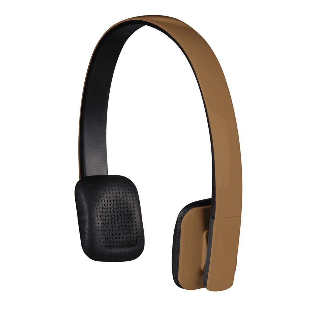 Hama bluetooth stereo headset Drift, hnědý