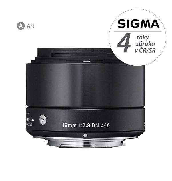 SIGMA 19/2.8 DN ART OLYMPUS černý