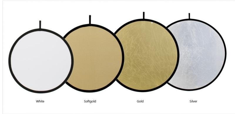 Odrazná deska 100cm EXL, SILVER/GOLD